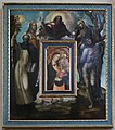 Sodoma e bottega, padre eterno e quattro santi, che incorniciano madonna di francesco di vannuccio (1375 ca.) 02.jpg
