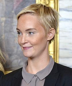 Sofia Pekkari under Det Kgl. Svenske Teaters efterårssamling 2014.