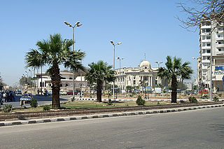 Sohag City in Egypt