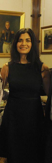 Soledad Villamil en la Casa Rosada 2010-03-18.jpg