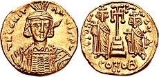 Solidus of Constantine IV with Heraclius and Tiberius.jpg