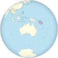 Solomon Islands on the globe (Oceania centered).svg