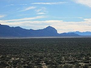 Huerfano Butte (Arizona) - Image: Sonoran Desert Santa Rita Experimental Range 2013
