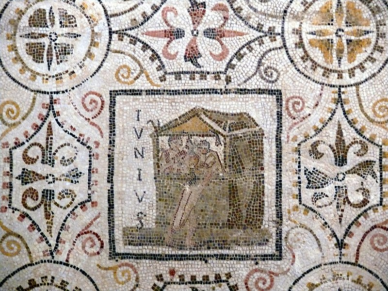Sousse mosaic calendar June.JPG