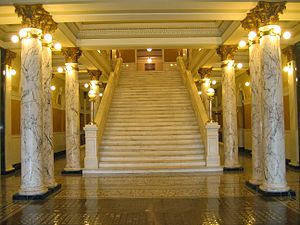 South Dakota State Capitol - Staircase