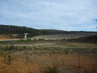 South Dandalup Dam dam in Australia