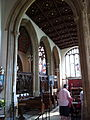 South choir aisle, All Saints' Oakham.jpg