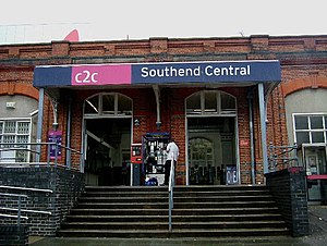 Southend Central railway station - Image: Southend Central geograph.org.uk 41377