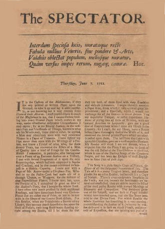 The Spectator (1711) - The Spectator from 7 June 1711
