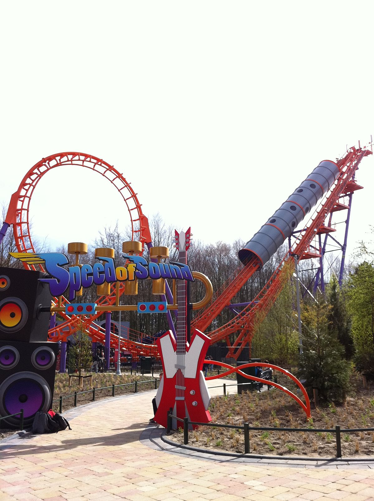 Speed of Sound (roller coaster) - Simple English Wikipedia ...