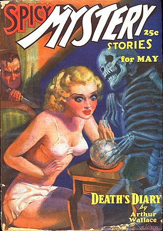 Harry Donenfeld - Image: Spicy Mystery Stories May 1936