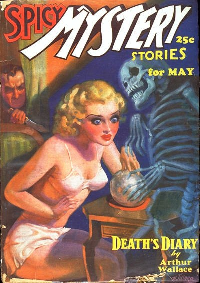 Spicy Mystery Stories May 1936