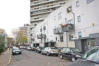 Winstanley Estate Housing estate in Battersea, London
