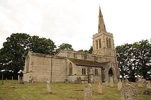 Wakerley - Image: St.John the Baptists church (geograph 2523302)