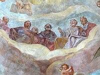 St.Michael - Vierungsfresco 4 Beisitzer