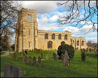 Saxilby - Image: St. Botolph's church, Saxilby, Lincolnshire