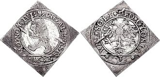 Soli Deo gloria - Soli Deo gloria on a 1622 coin from St. Gallen, Switzerland
