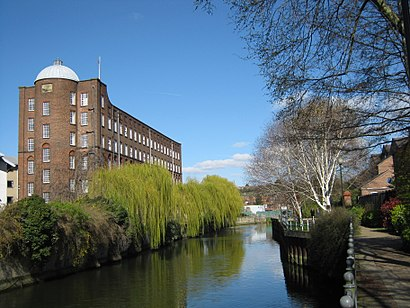 How to get to St James Mill with public transport- About the place