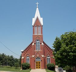 St. Joseph's Church - Rickardsville, Iowa.jpg