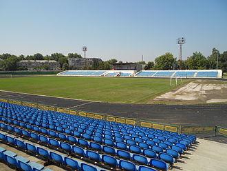 Stadionul Orășenesc (Bălți) - Image: St. Olimpia din Bălți CN