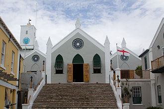 House of Assembly of Bermuda - St. Peter's Church, where the House of Assembly held its first session on the 1 August 1620.