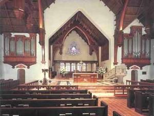 St. John's Cathedral (Jacksonville) - Image: St Johns Cathedral Jax Inside