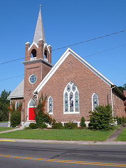 St Peters Lutheran Church (1904) in Toms Brook, Virginia.