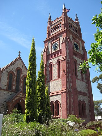 Walkerville, South Australia - St Andrew's Anglican church in the heart of Walkerville