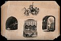St Bartholomew the Great, Smithfield, London; four views. Wo Wellcome V0013138.jpg