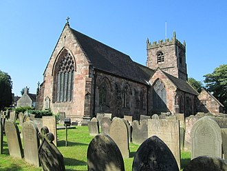 Cheddleton - St Edward's Church, Cheddleton