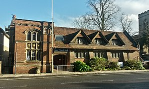 St Giles' Church, Oxford - The church hall, located on Woodstock Road.