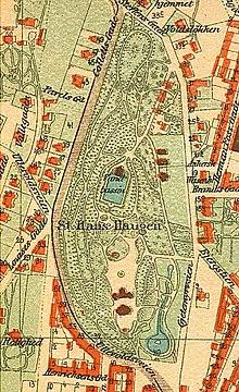 st hanshaugen kart St. Hanshaugen Park   Wikipedia st hanshaugen kart