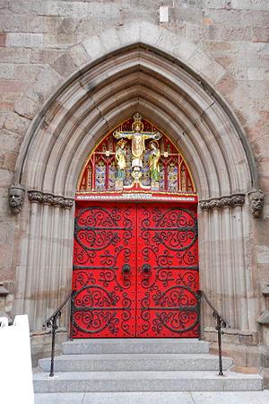 Milton Bennett Medary - Image: St Marks door, Locust St, Philly