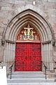 St Marks door, Locust St, Philly.JPG