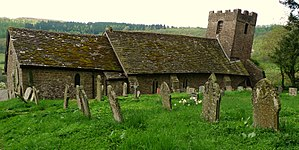 Cwmyoy - St Martin's Church
