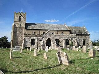 Tuddenham village in United Kingdom