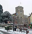 St Mary's Church In Winter, Twickenham - London. (8398623154).jpg