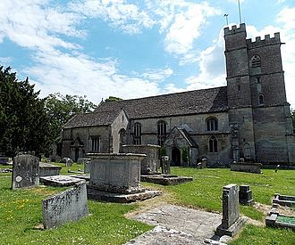 Churchend, Gloucestershire - St Michael and All Angels church
