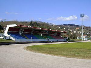 2017–18 Slovenian PrvaLiga - Image: Stadium at Matijia