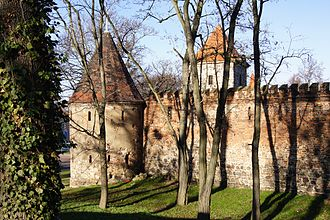 Zerbst - City wall