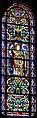 Stained glass window, North transept of Saint-Sernin basilica 02.jpg