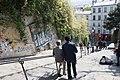Stairway down Montmartre (38274661244).jpg