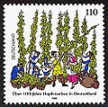 Stamp Germany 1998 MiNr1999 Hopfenanbau.jpg