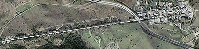 Foto aerea dello SLAC.