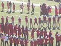Stanford Band performing pregame at 2008 Big Game 01.JPG