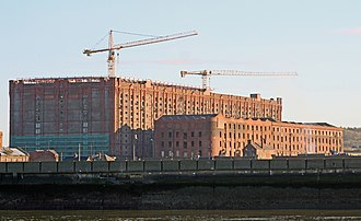 Stanley Dock Tobacco Warehouse - Image: Stanley Dock warehouses