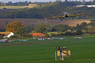 Stapleford Aerodrome airport in the United Kingdom