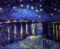 Starry Night Over the Rhone by Vincent van Gogh, 'lightballs'.jpg