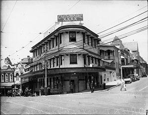 Orient Hotel, Brisbane - Orient Hotel in 1936