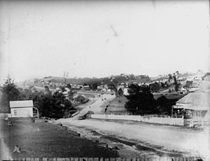 Kelvin Grove, Queensland - Kelvin Grove Road c.1890